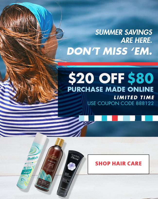 HERO / Shop Hair Care