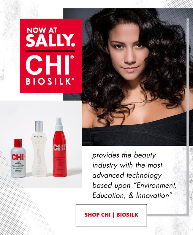 CHI BIOSILK - PROVIDES THE BEAUTY INDUSTRY WITH THE MOST ADVANCED TECHNOLOGY BASED UPON 'ENVIRONMENT, EDUCATION, & INNOVATION' - SHOP CHI | BIOSILK